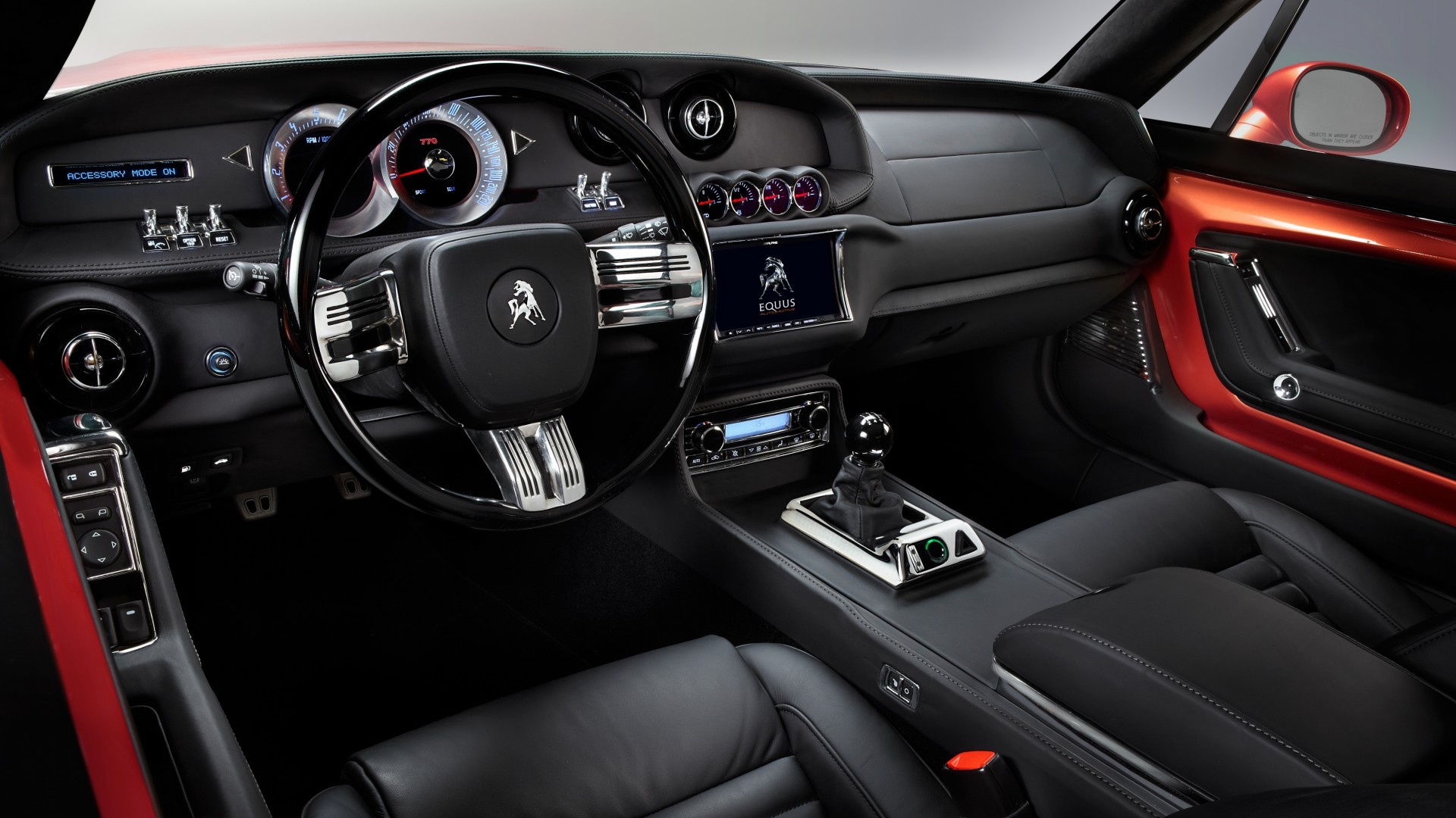 Equus Bass 770, Best Sports Cars 2015, fastback, muscle car, sports car, Detroit, test drive, speed, interior